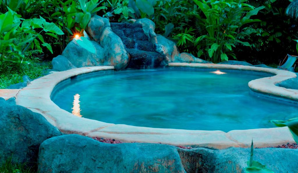 The swimming pool at or close to Blue Conga