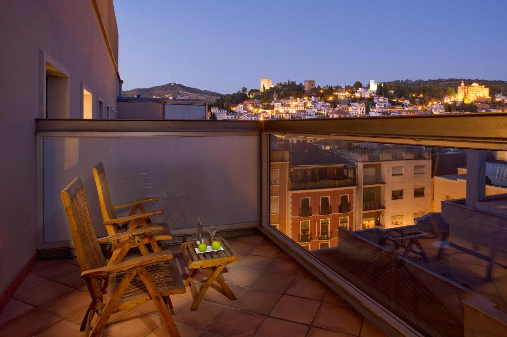 A balcony or terrace at Meliá Granada