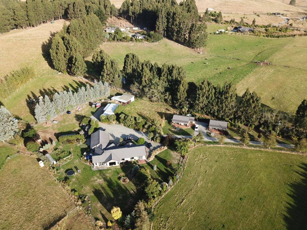 A bird's-eye view of Sou'West Cottages