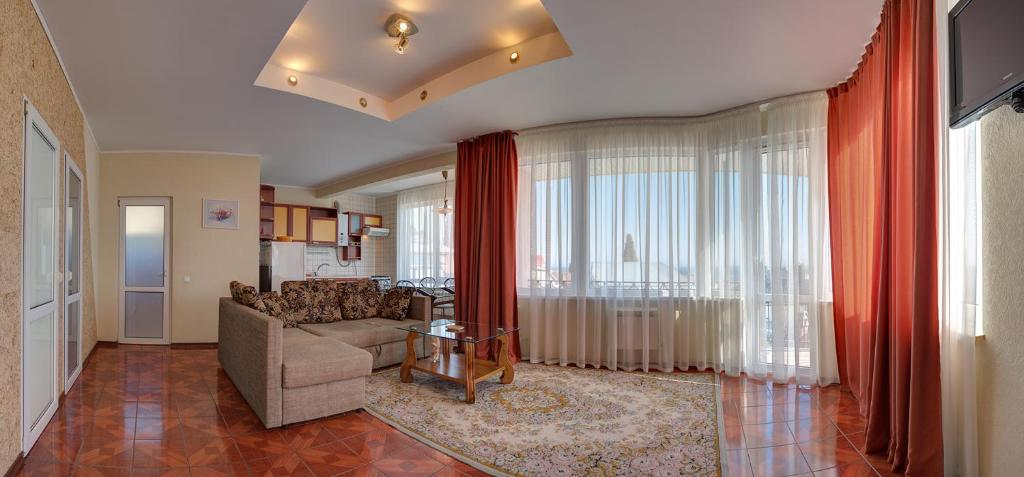 Гостиная зона в Klimenko House