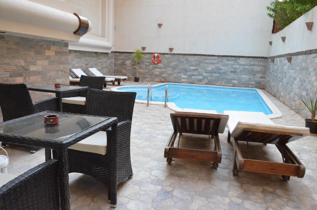Elite Suites Hurghadaの敷地内または近くにあるプール