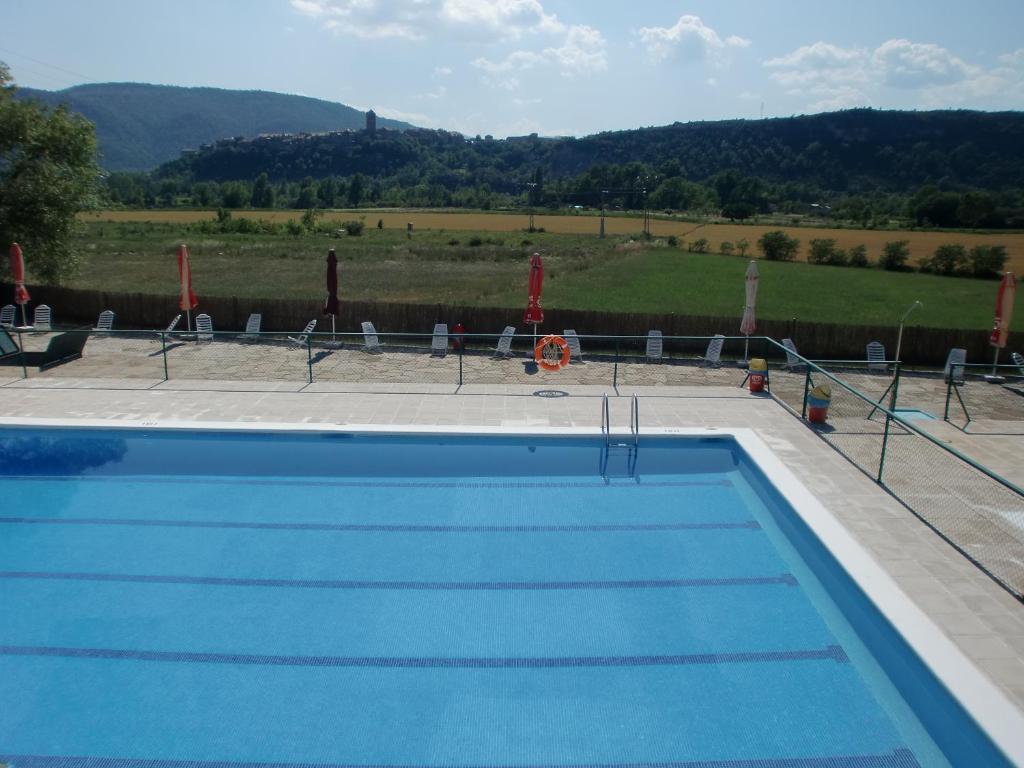 Het zwembad bij of vlak bij Camping Ainsa