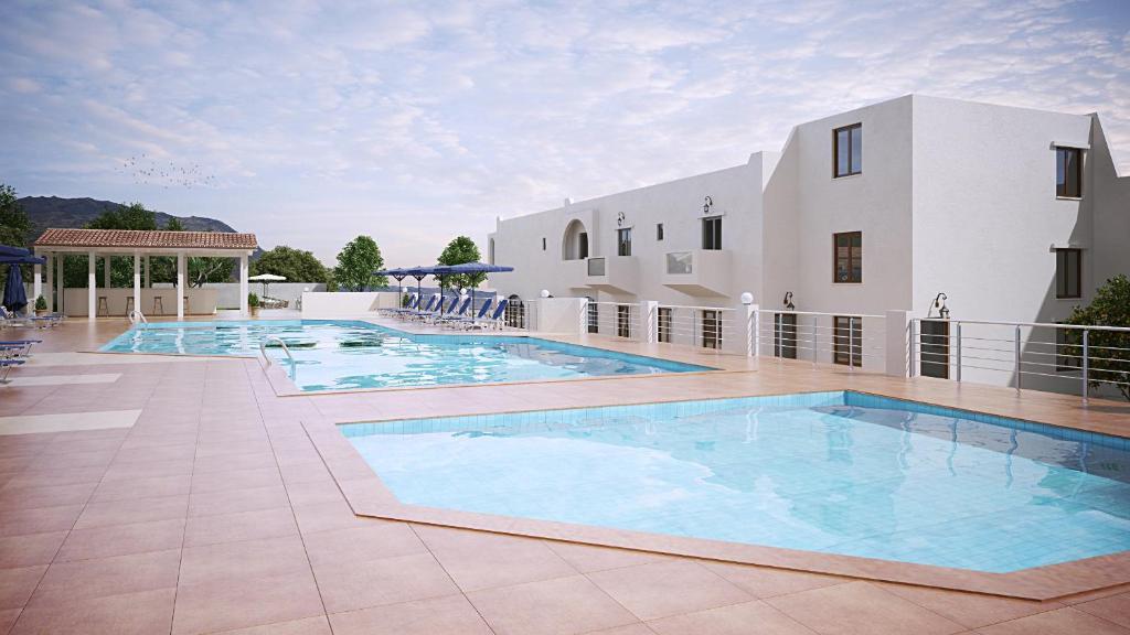 Het zwembad bij of vlak bij Dimitra Hotel