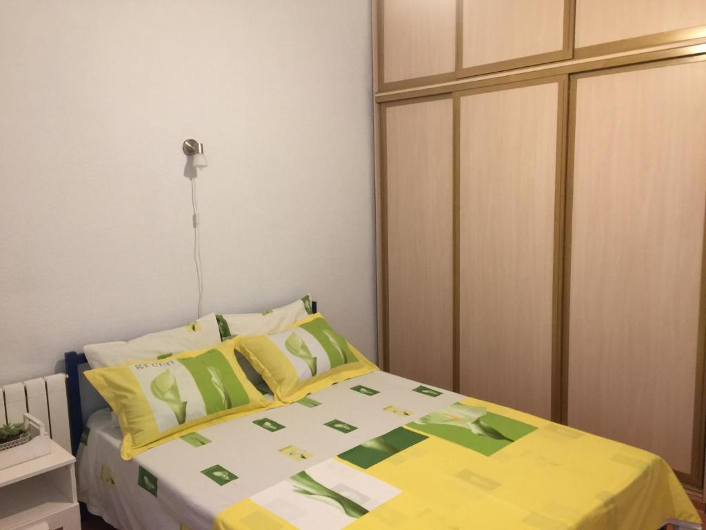 A bed or beds in a room at Good morning
