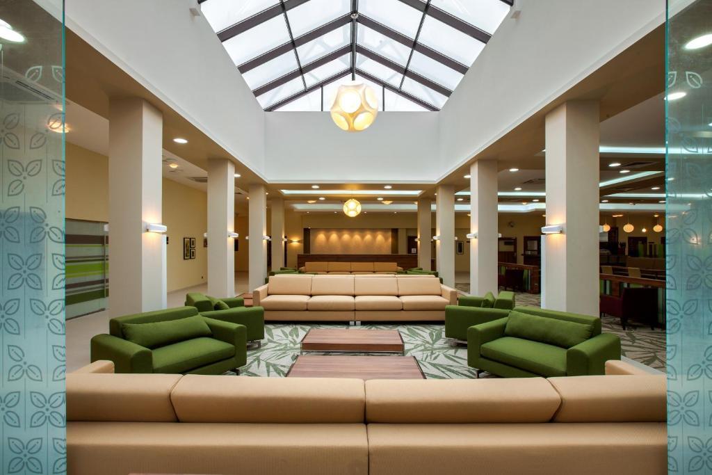 The lobby or reception area at Hilton Garden Inn Moscow New Riga