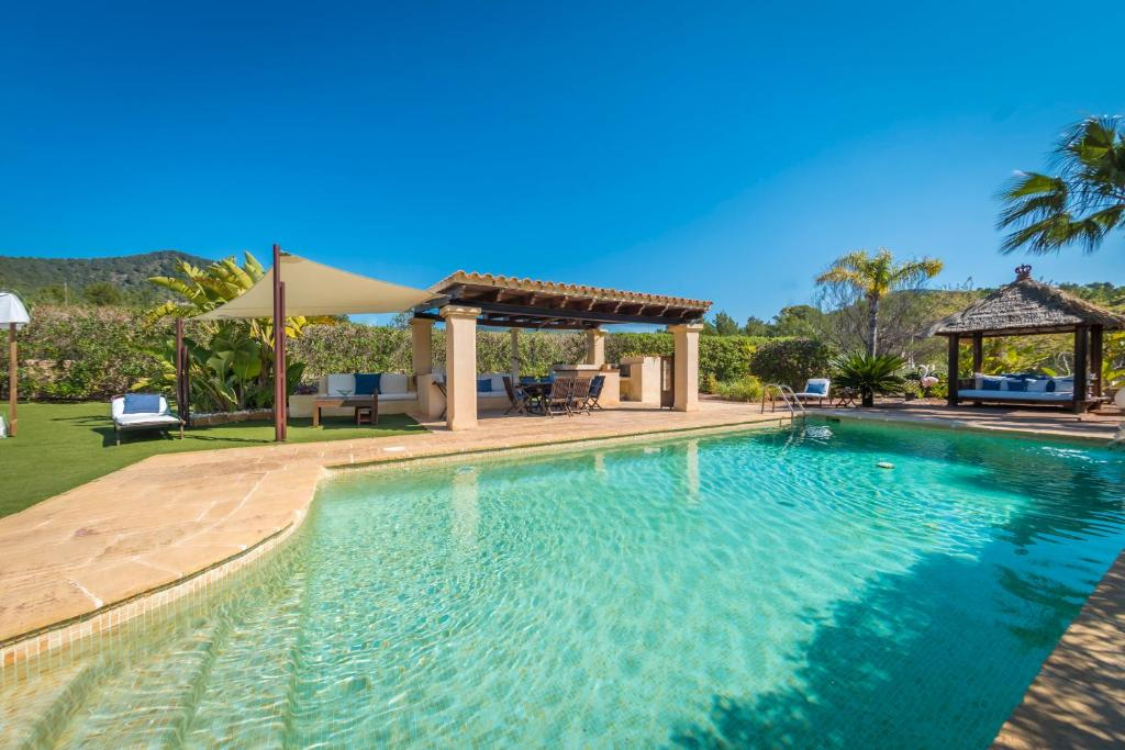 The swimming pool at or near Eivissa House