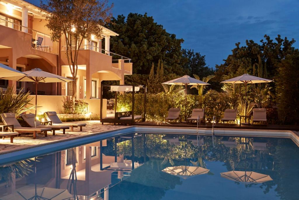 The swimming pool at or near Lena Mare Boutique Hotel