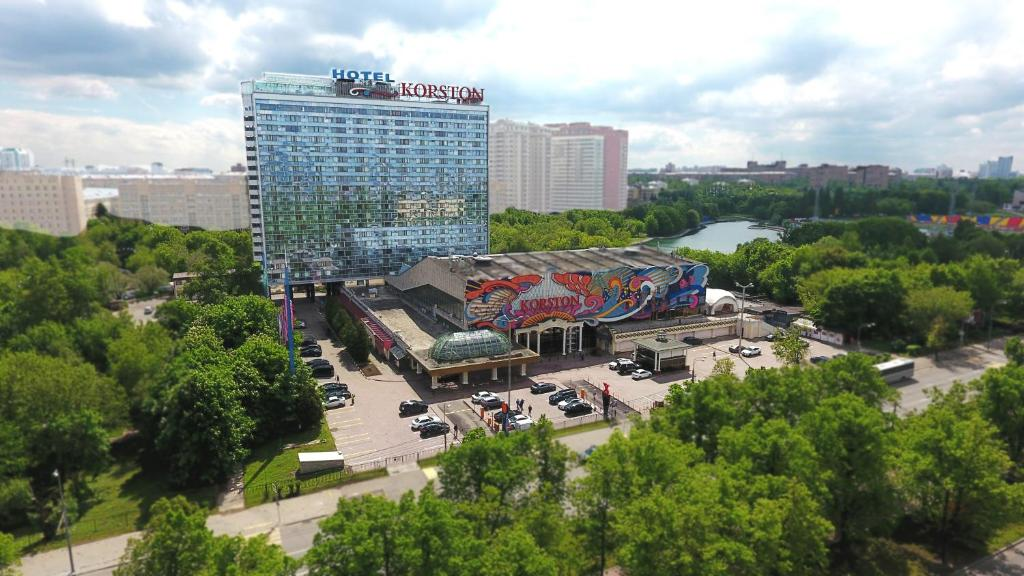 Корстон Клуб Отель Москва с высоты птичьего полета