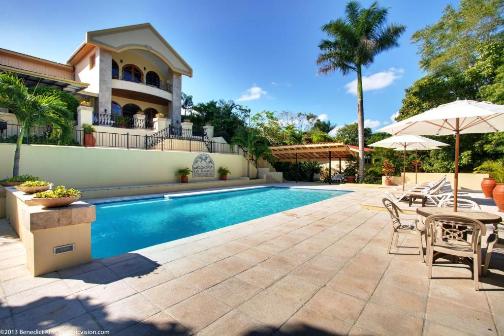 The swimming pool at or near San Ignacio Resort Hotel