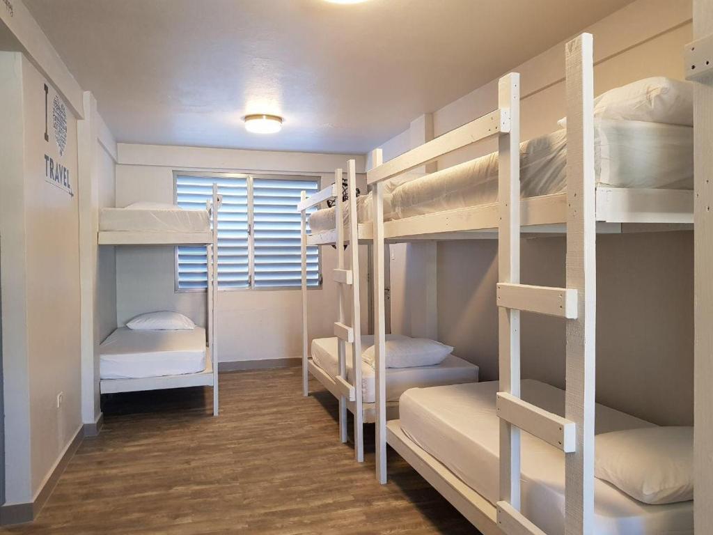 A bunk bed or bunk beds in a room at 1802 at San Juan