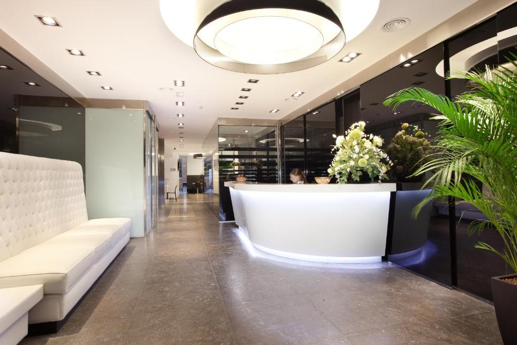 El vestíbulo o zona de recepción de Dalia Ramblas