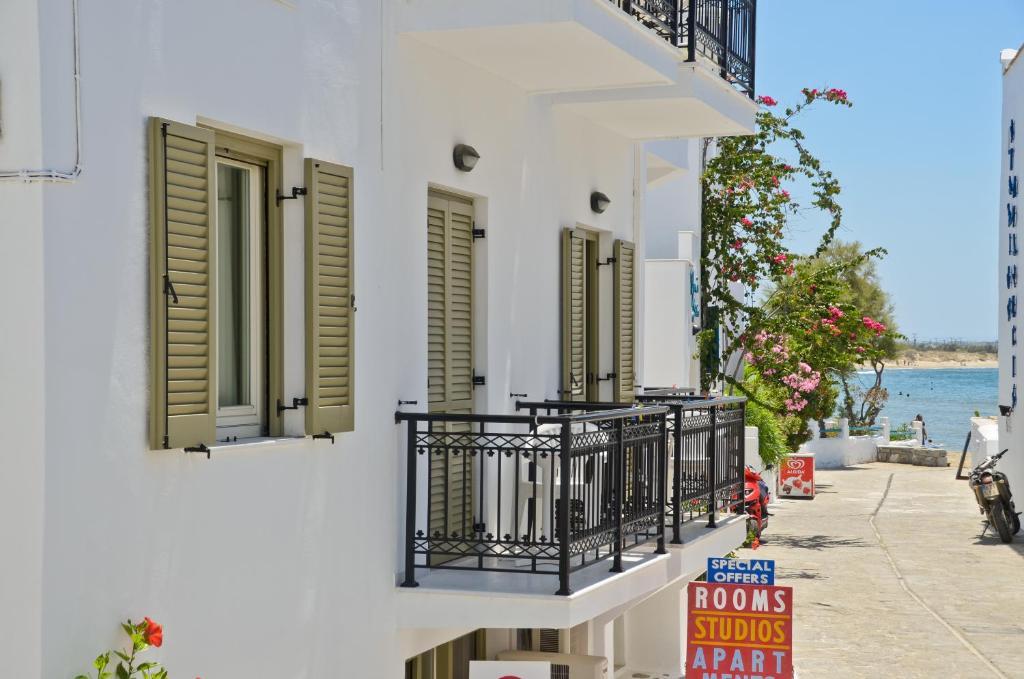 A balcony or terrace at Soula Hotel