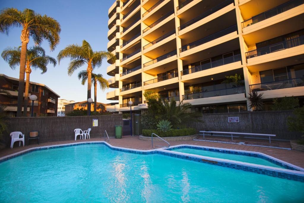 The swimming pool at or near St Tropez Unit 37 - The Entrance, NSW