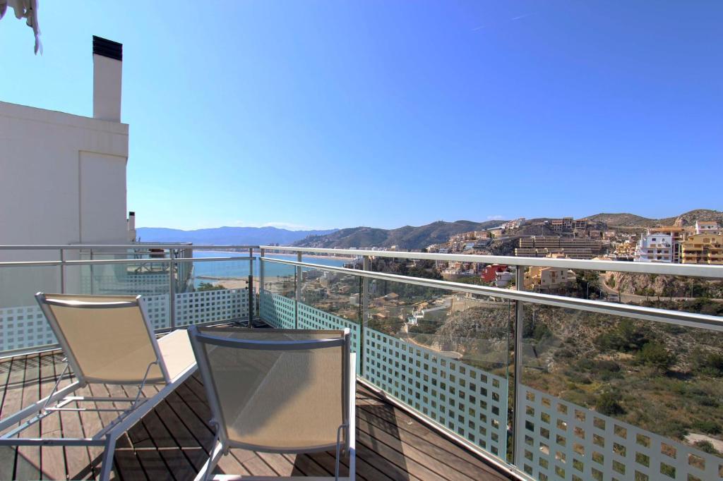 A balcony or terrace at Mirador de Can Vicent