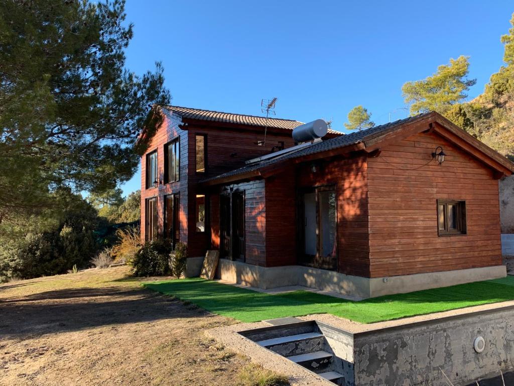 Casa de madera en Alto Tajo