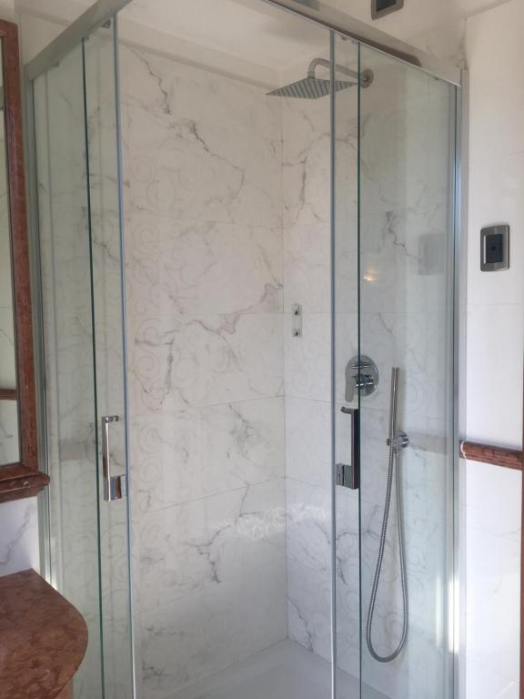A bathroom at Hotel Hiberia