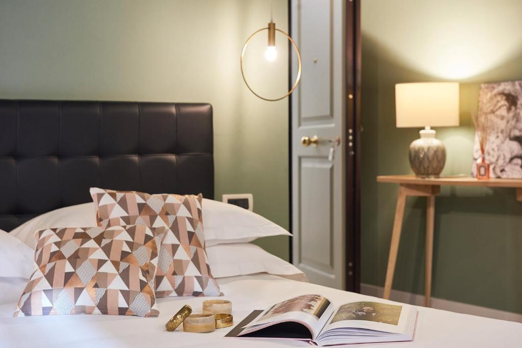 Cama o camas de una habitación en Residence Leopoldo