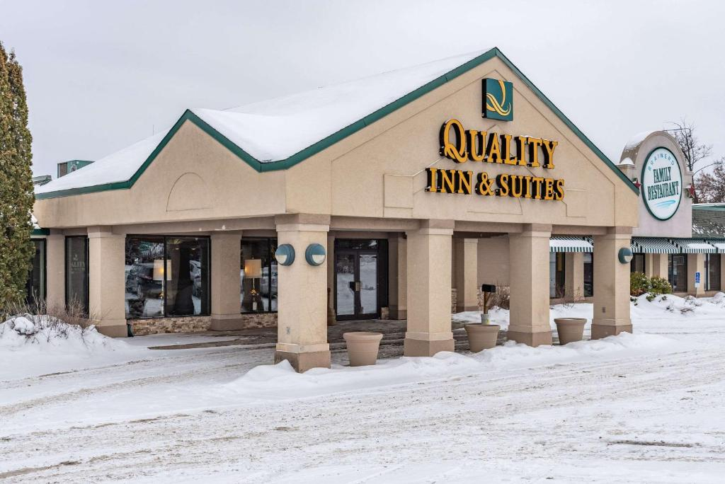Quality Inn & Suites during the winter