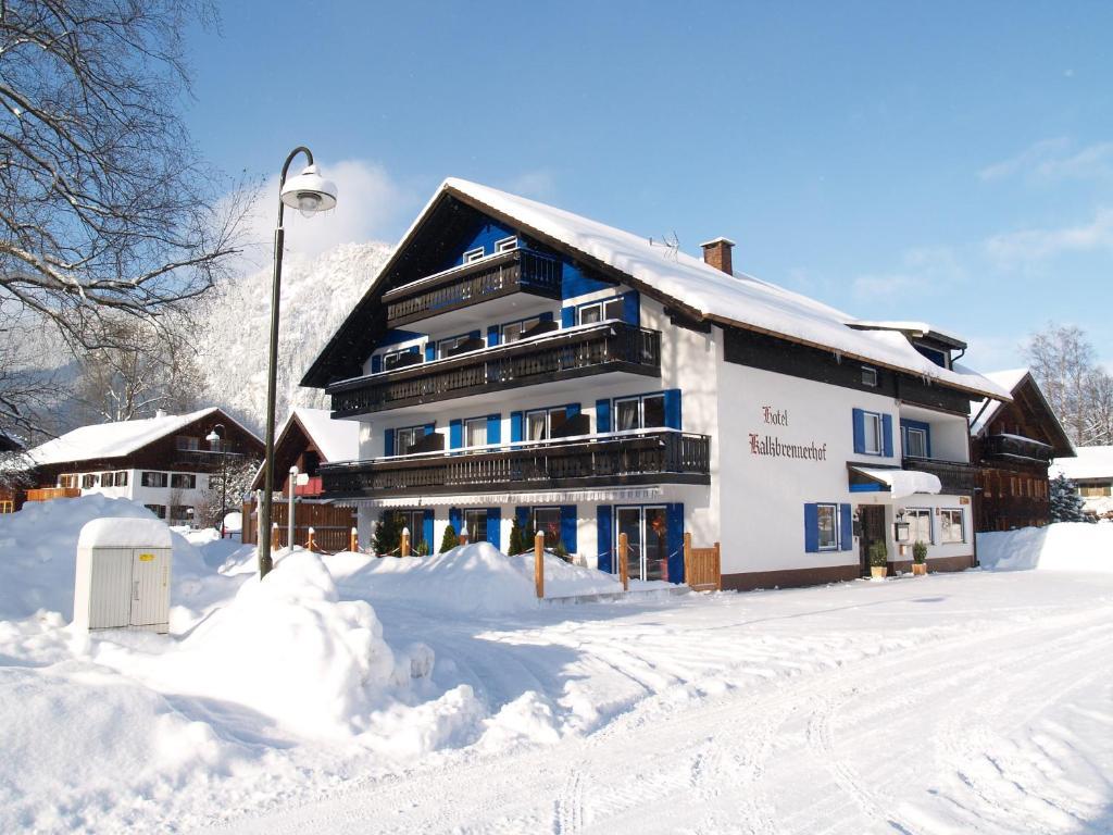 Hotel-Garni Kalkbrennerhof in de winter