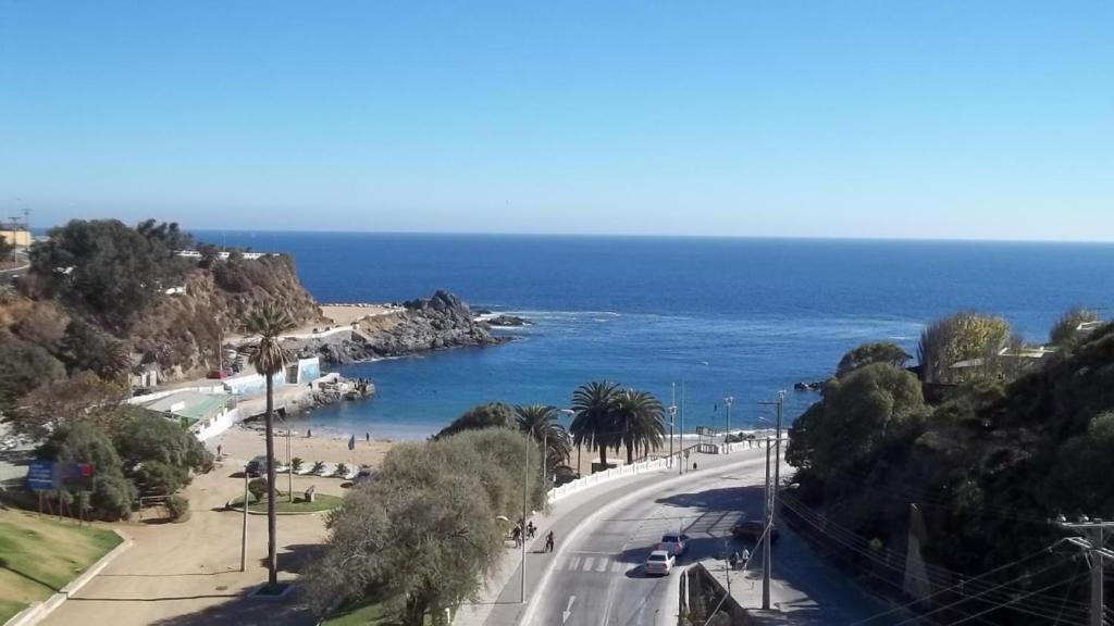 Departamento playa Paraíso, frente al mar