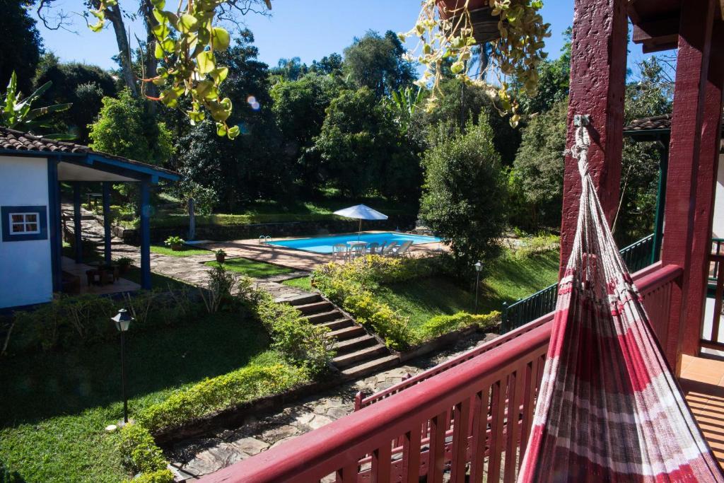Uma vista da piscina em Hotel Solar dos Montes ou nos arredores