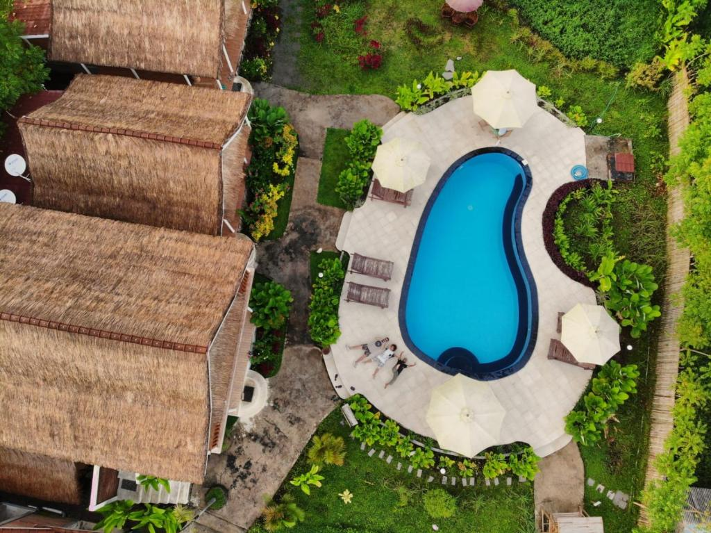 A bird's-eye view of Tetebatu Flush Harmony