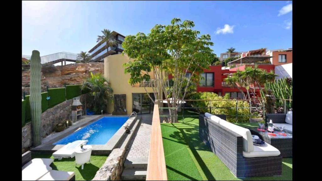 Vista de la piscina de Villa Las Terrazas 17•Exclusive Chill Out and Pool. o alrededores