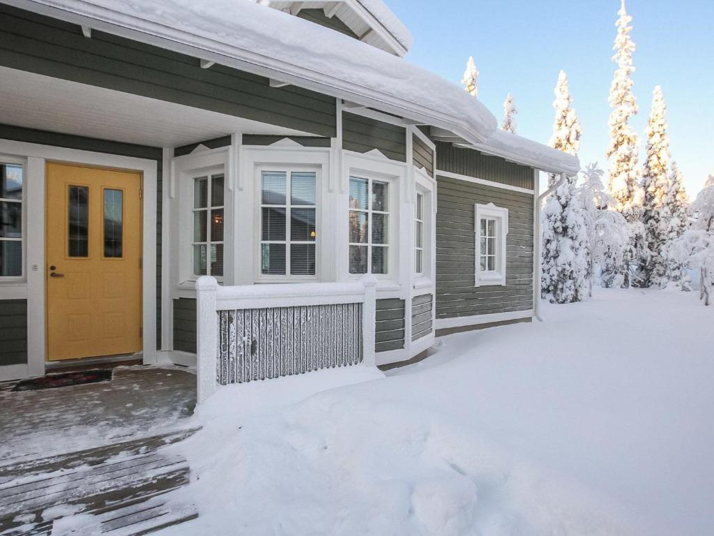 Holiday Home Rukan taikavuosselin helmi 8 a during the winter