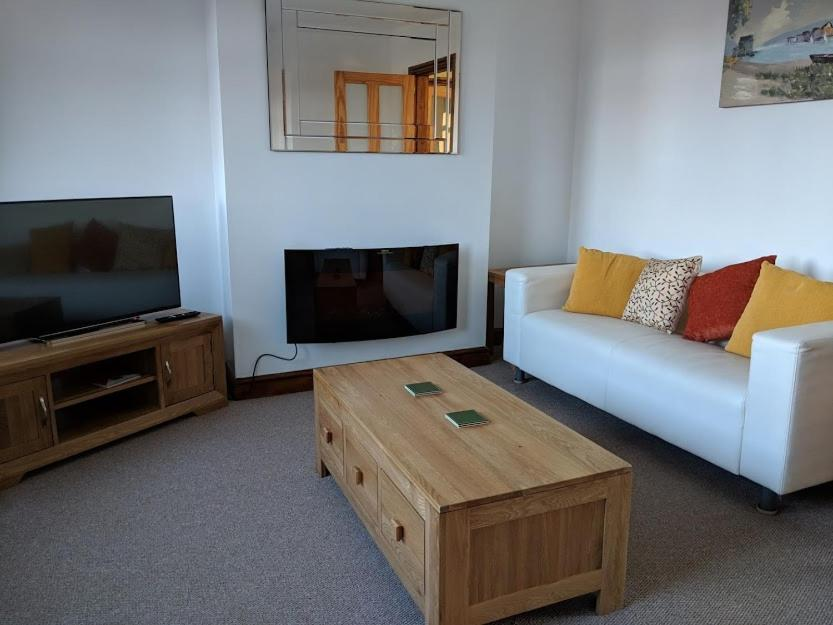 A television and/or entertainment center at Avon House