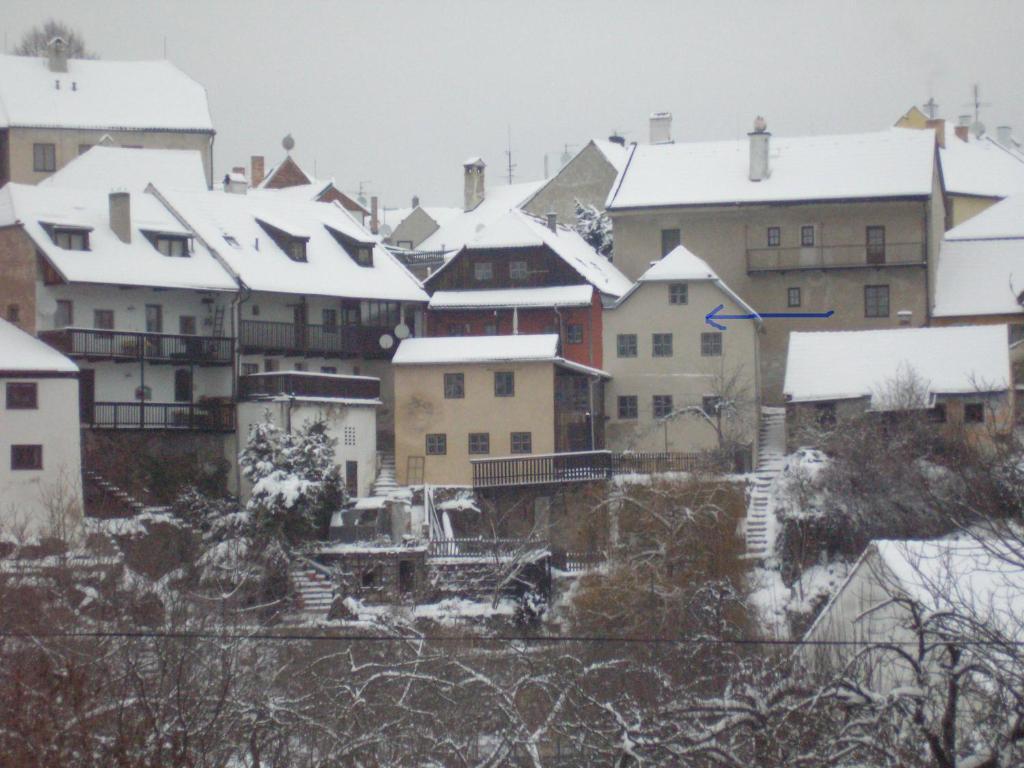 Apartmán U Muzikanta during the winter