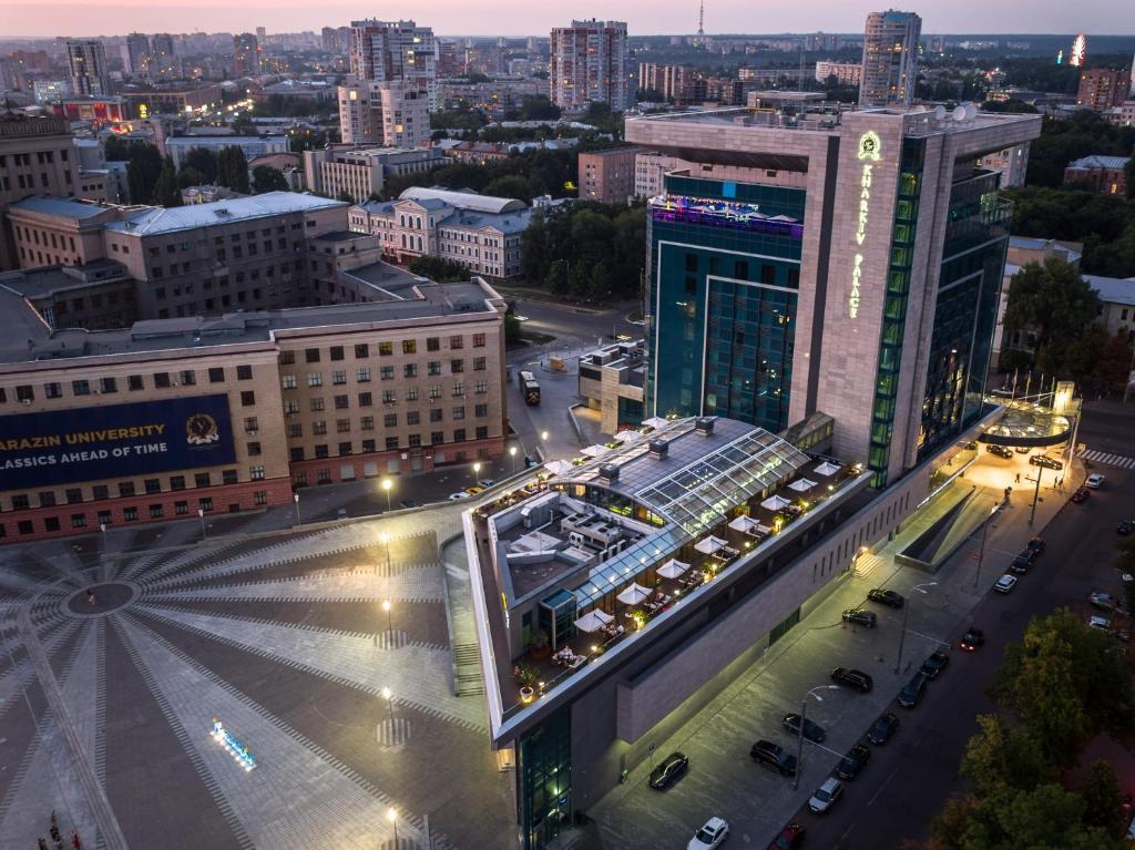 Kharkiv Palace Hotel с высоты птичьего полета