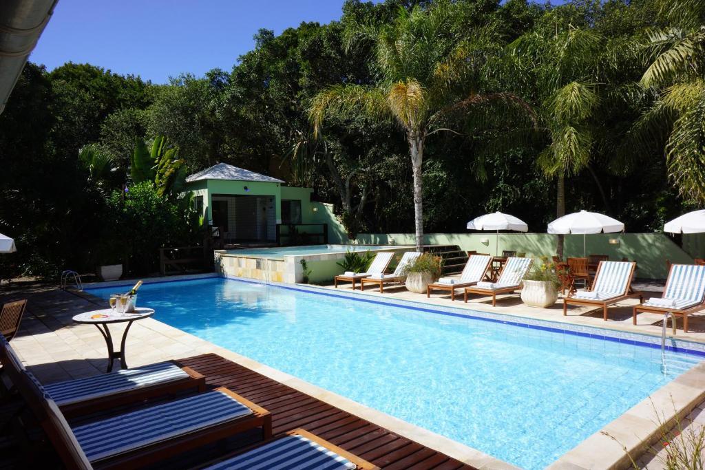 A piscina localizada em Pousada Aguas Claras ou nos arredores