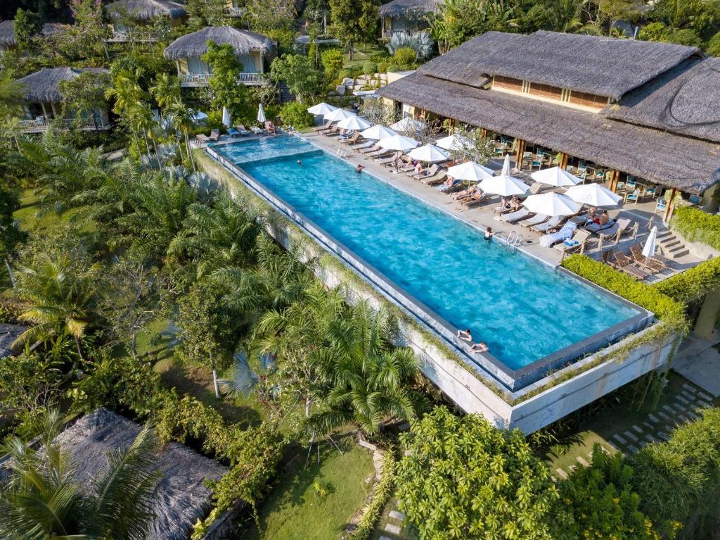 Tầm nhìn từ trên cao của Lahana Resort Phu Quoc & Spa