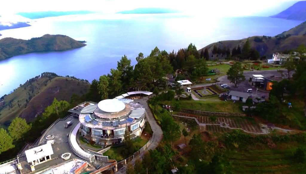 Taman Simalem Resort с высоты птичьего полета
