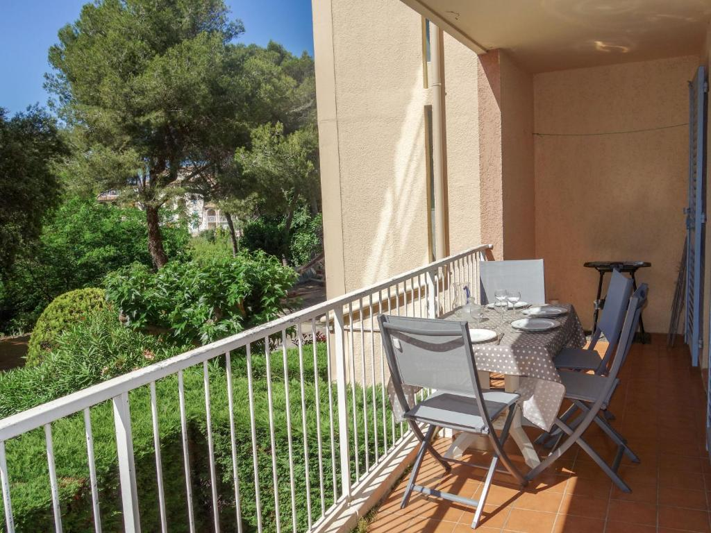 A balcony or terrace at Apartment le Verdon-1
