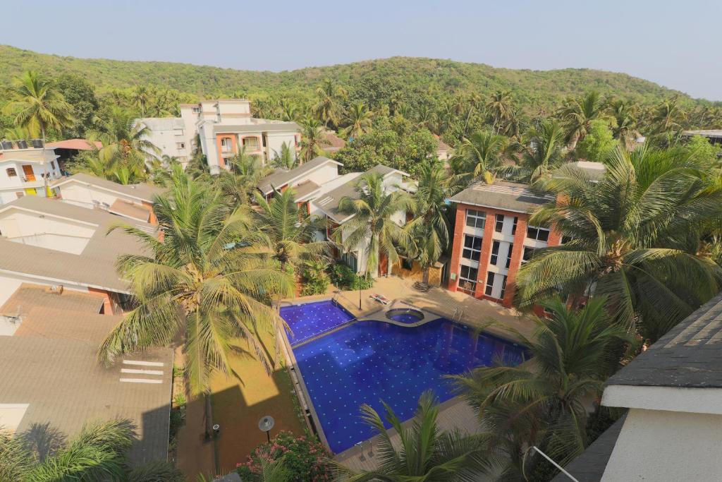 A view of the pool at Goa Chillout Apartment - 2BHK or nearby