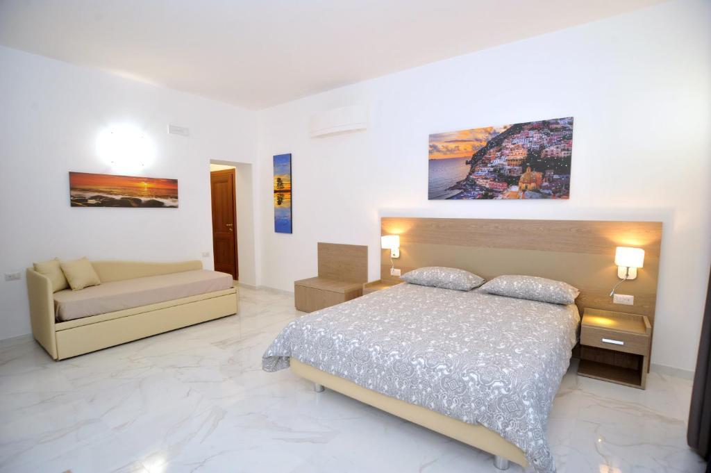 Letto o letti in una camera di Dipino Accommodation
