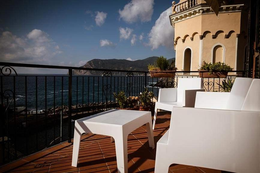 A balcony or terrace at Camere Nicolina
