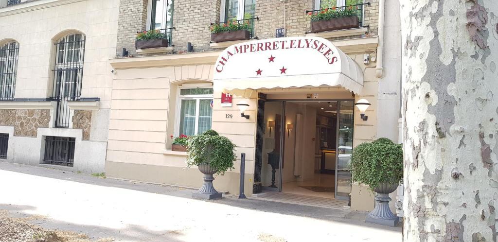 Hotel Champerret Elysees Paris, France