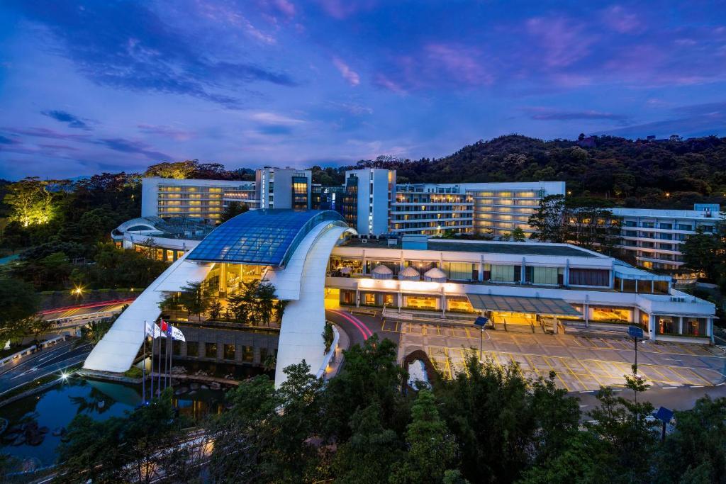 منظر Hilton Guangzhou Science City من الأعلى