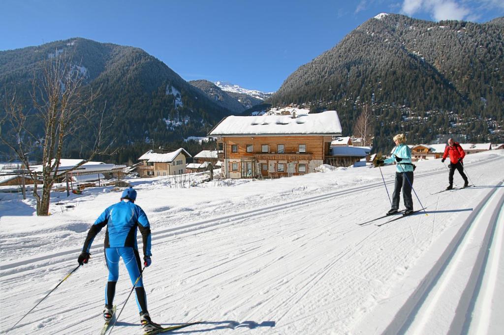 Attività di sci presso il residence o nelle vicinanze