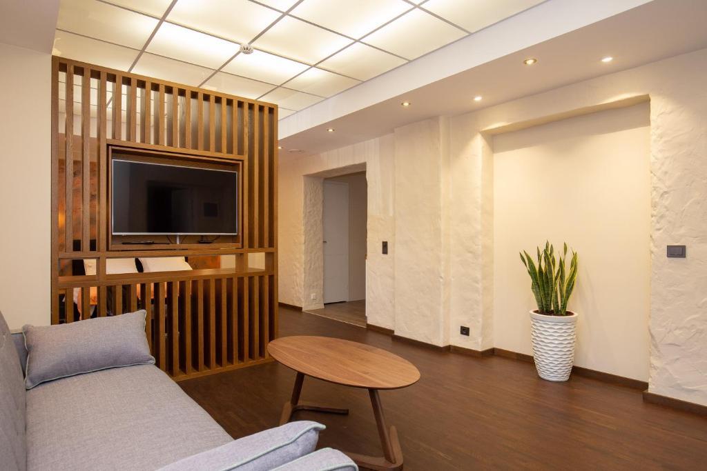 Istumisnurk majutusasutuses P54 Apartment
