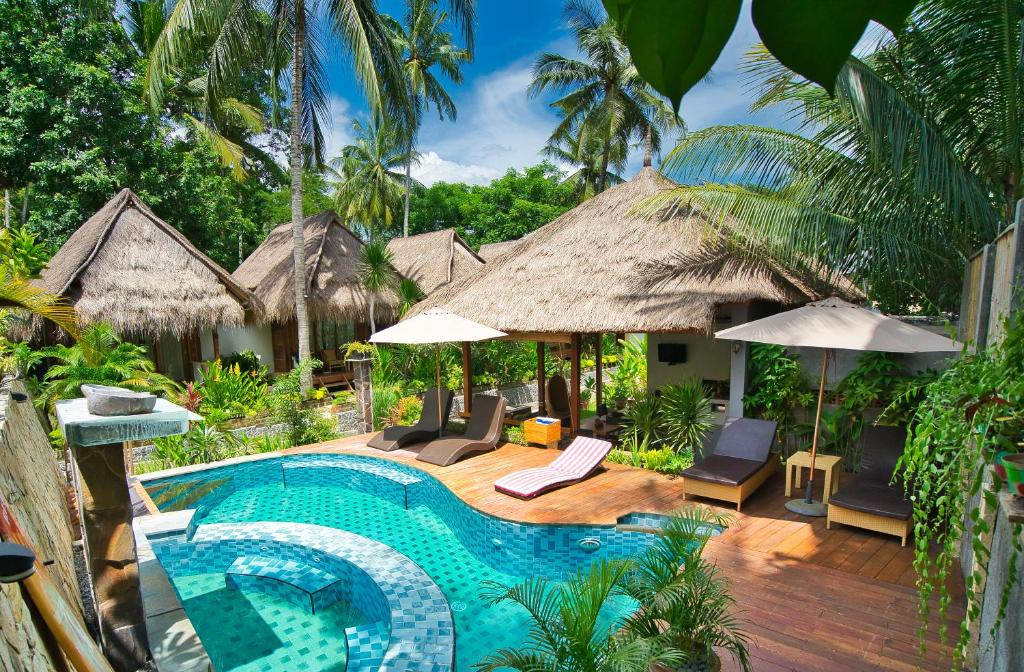 The swimming pool at or near Village Vibes Lombok