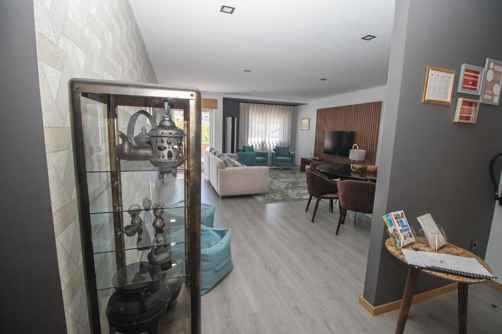 The fitness center and/or fitness facilities at Douro Real Apartments