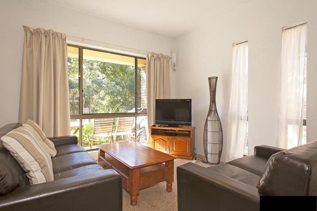 A seating area at Banksia - Sawtell, NSW