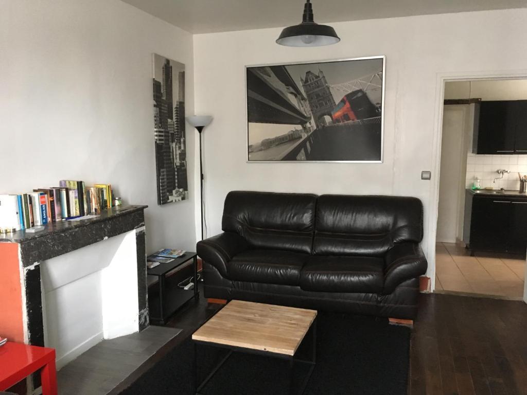 A seating area at Chez Tibo