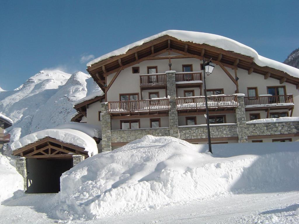 Résidence le Clos Vanoise during the winter