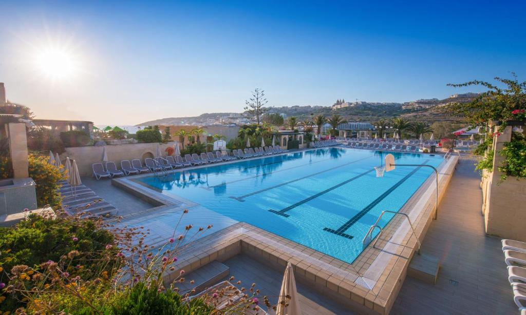 The swimming pool at or near Mellieha Holiday Centre