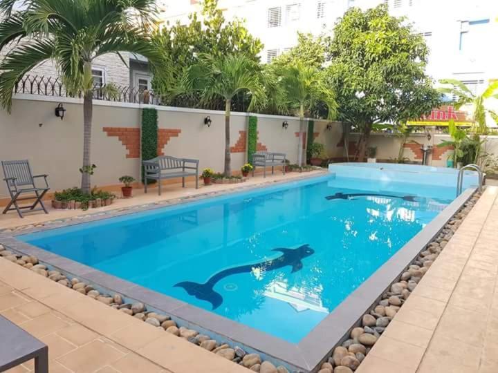 The swimming pool at or near Victory Villa O3