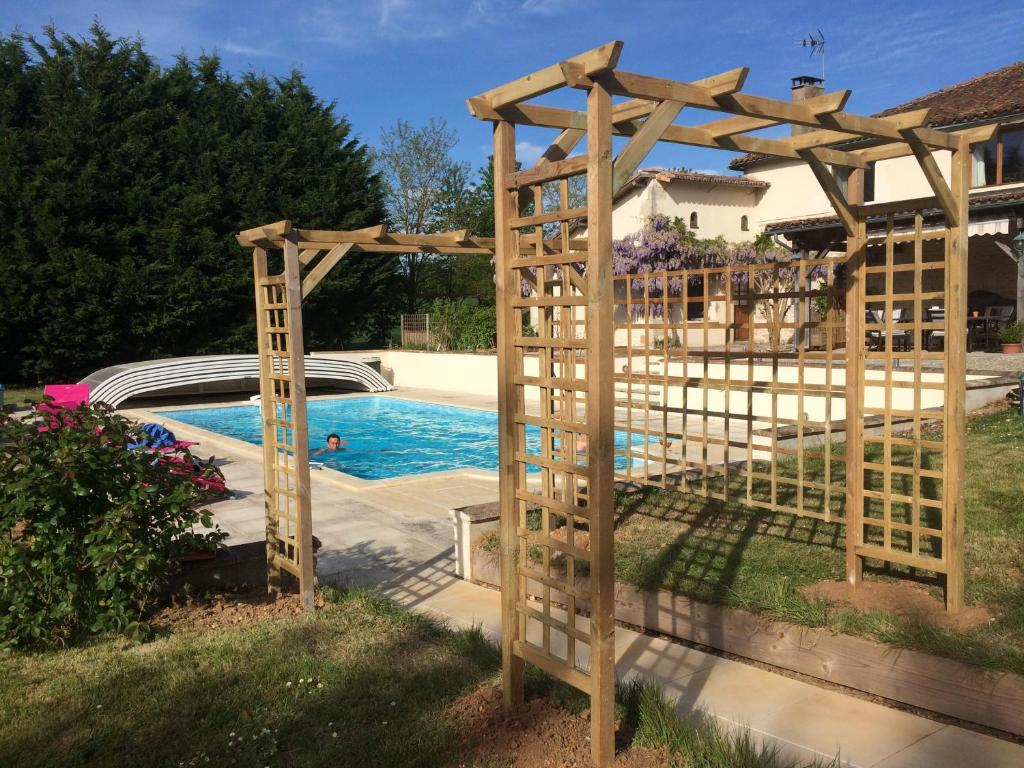 The swimming pool at or close to Wisteria & Jasmine
